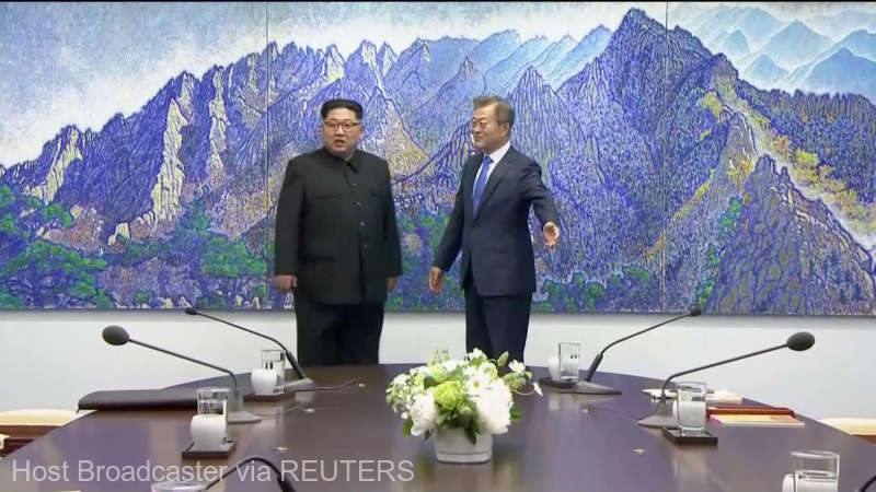 RĂZBOIUL între Coreea de Nord și cea de Sud a luat sfârșit. Liderii celor două state au semnat un document ISTORIC (VIDEO)