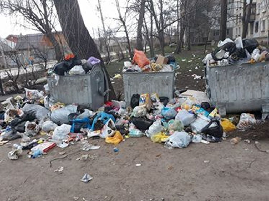(FOTO) Locuitorii unei străzi din Bălți, nemulțumiți de serviciile de salubrizare