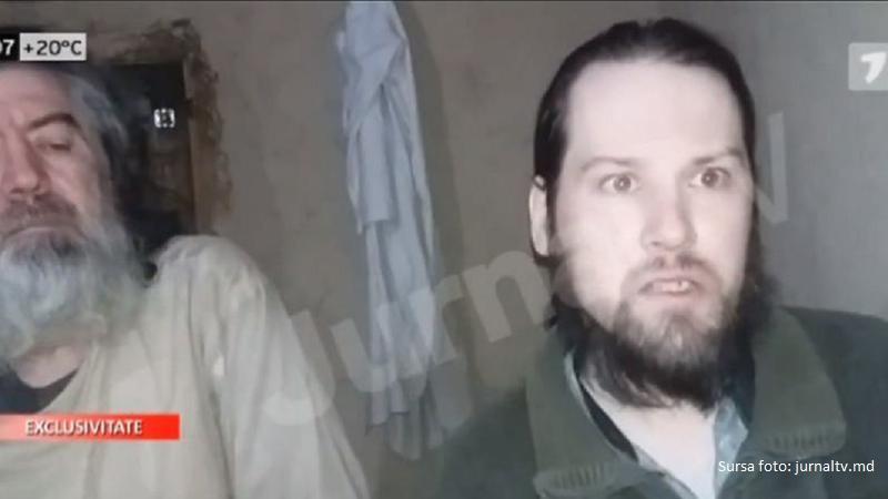 Primele imagini cu piloțiimoldoveni luați ostatici în Afganistan