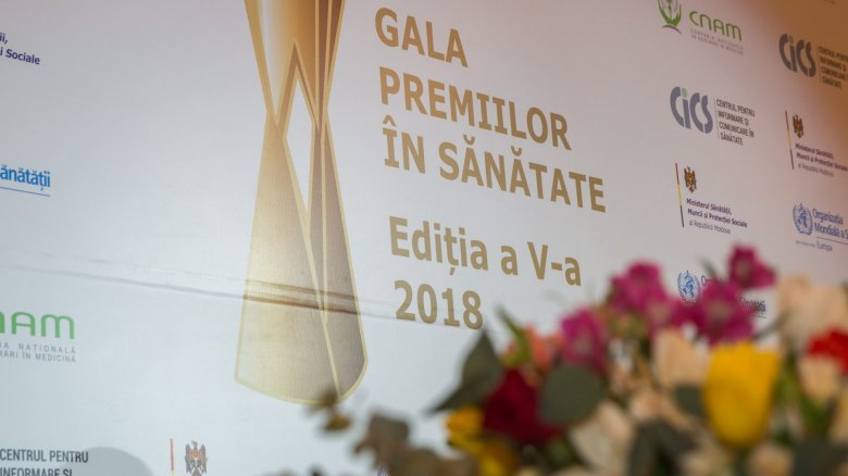 Gala Premiilor în Sănătate 2018. Unsprezece câștigători au primit premii pentru merite deosebite
