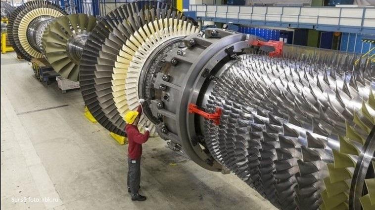 Prima turbină cu gaz de concepție rusească s-a dezintegrat în timpul testării