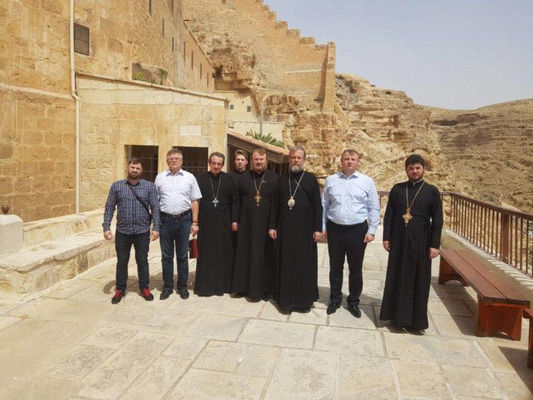 """Sfânta delegație"" a ajuns la Ierusalim"