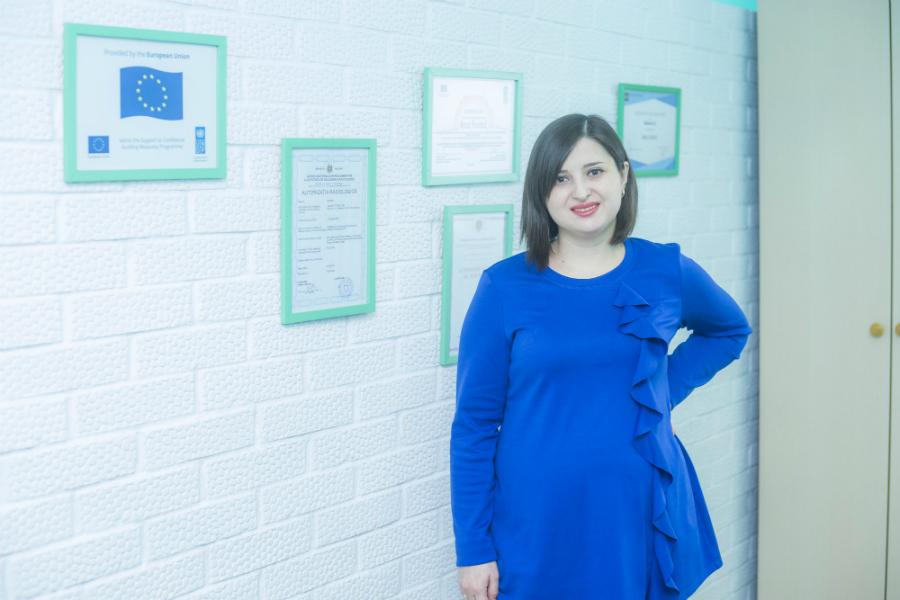 Cu sprijinul UE, o tânără din Șoldănești a creat un centru modern de imagistică dentară