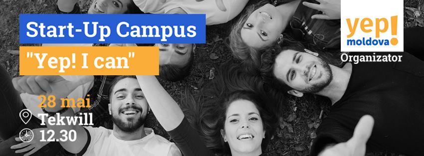 """Start-up campusul """"YEP! I can"""" le oferă studenților noi șanse de afirmare"""