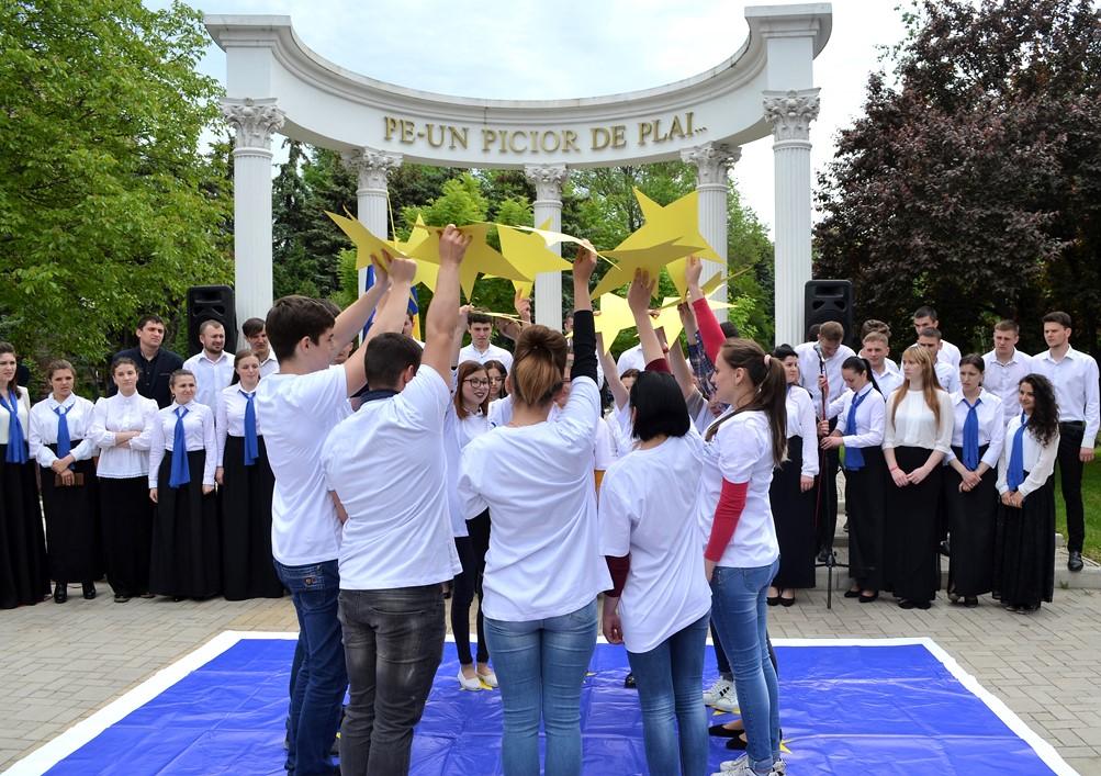 Ziua Europei celebrată la Bălți