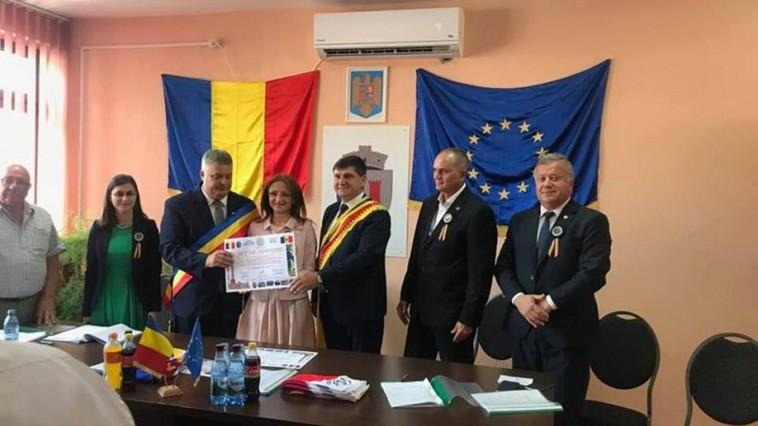 Satul Țaul s-a înfrățit cu o localitate din România