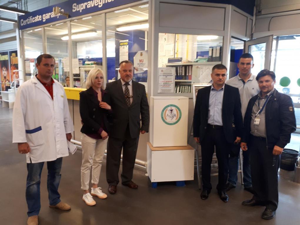 Boxe ANSA pentru colectarea petițiilor instalateși la magazinele din Bălți!