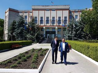 Tudor Ulianovschi a efectuat o vizită de lucru în raionul Glodeni