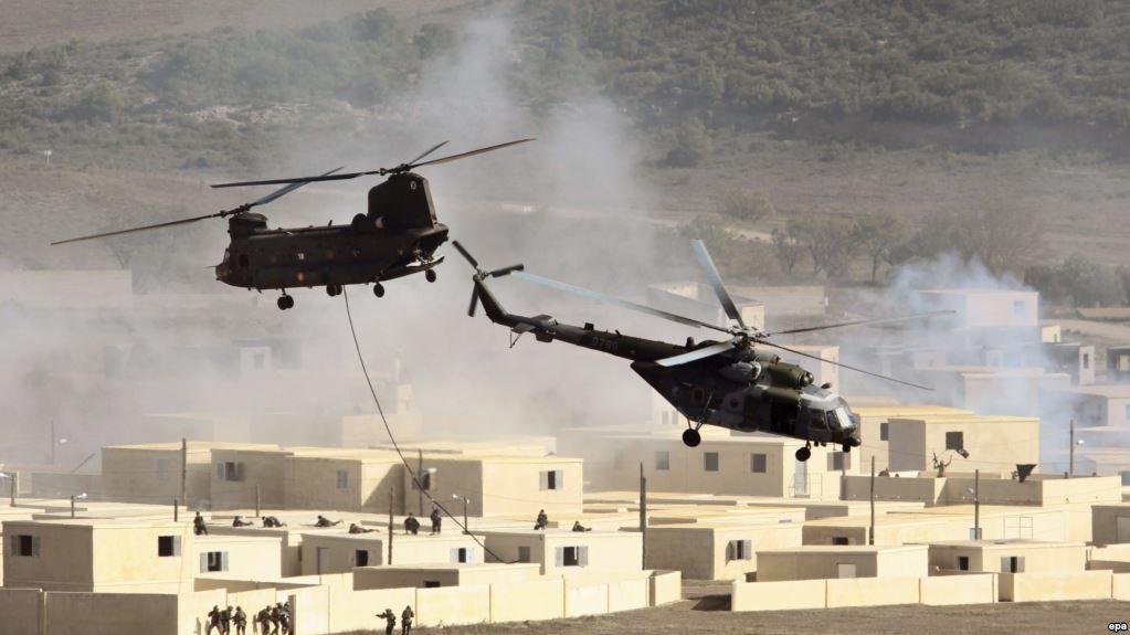 Un elicopter militar s-a prabușit în apropiere de Plovdiv