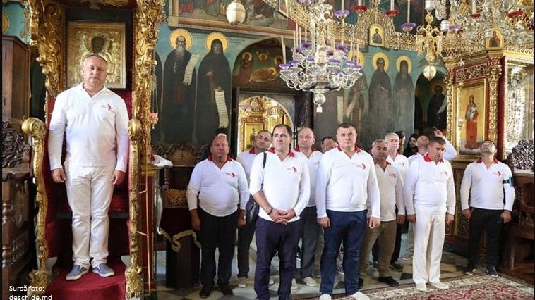 Igor Dodon se autofelicită cu ocazia zilei Sfântului Cneaz Igor de Cernigov