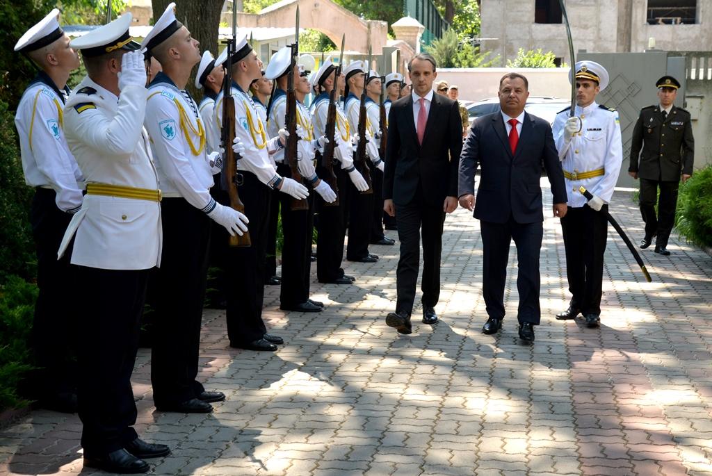 Dialog moldo-ucrainean pe dimensiunea Apărării