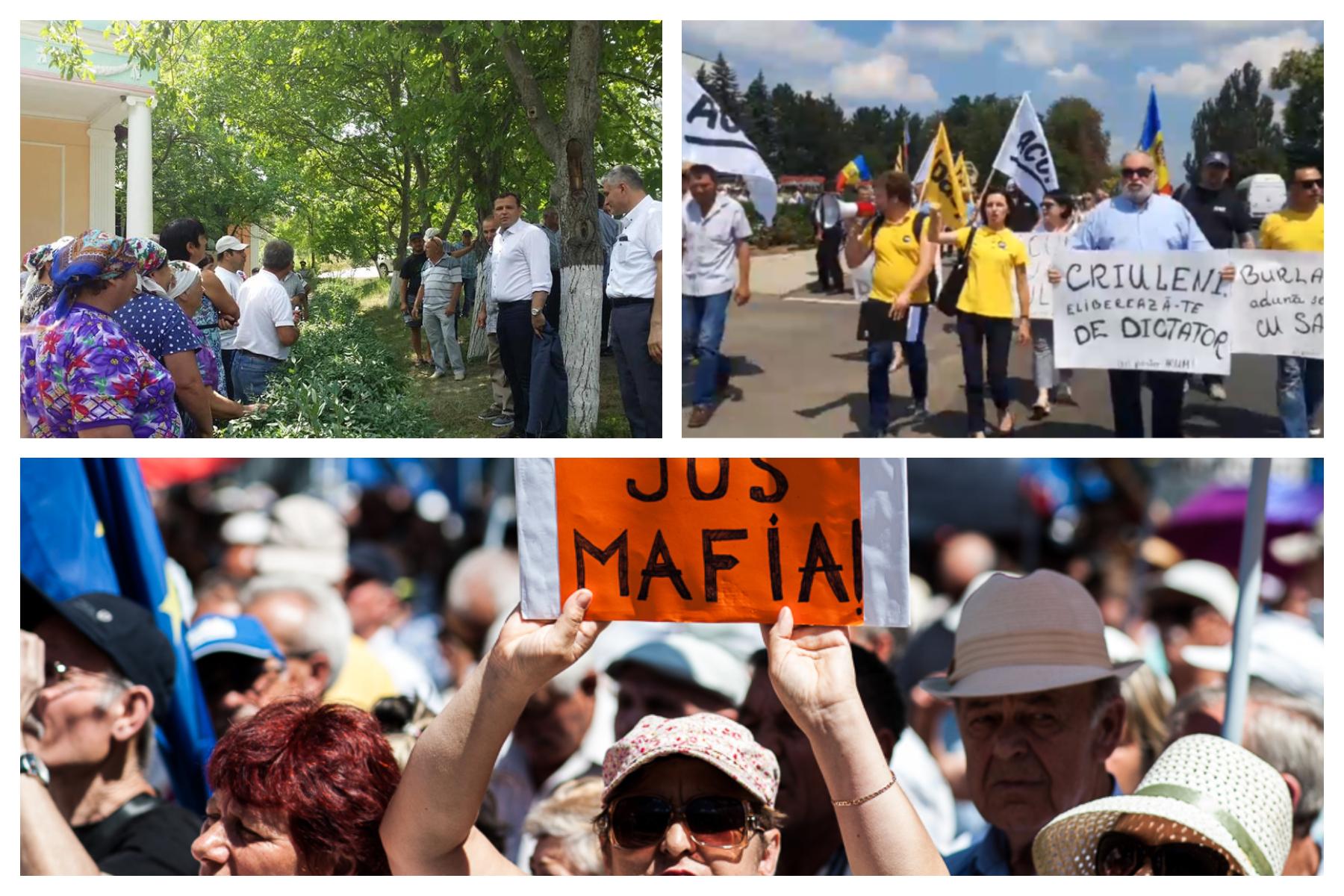 Dumitru Pelin // Despre geografia protestelor organizate de DA și PAS