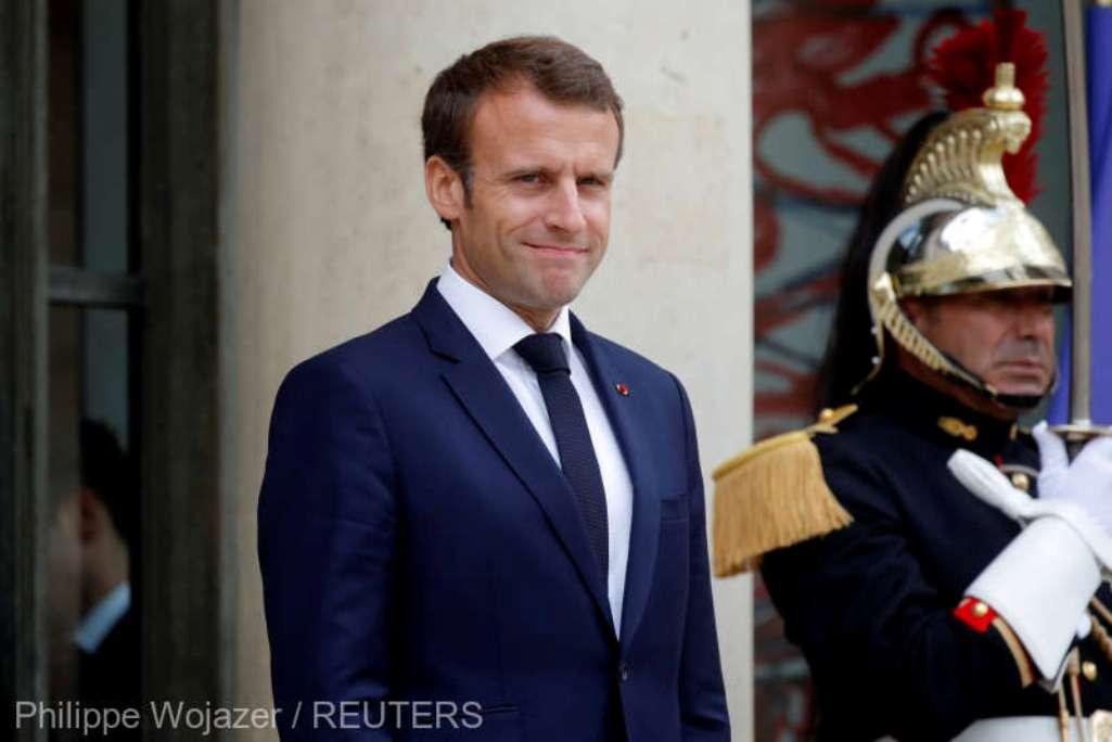 Macron l-a primit pe Lavrov pentru a discuta despre Siria şi Ucraina