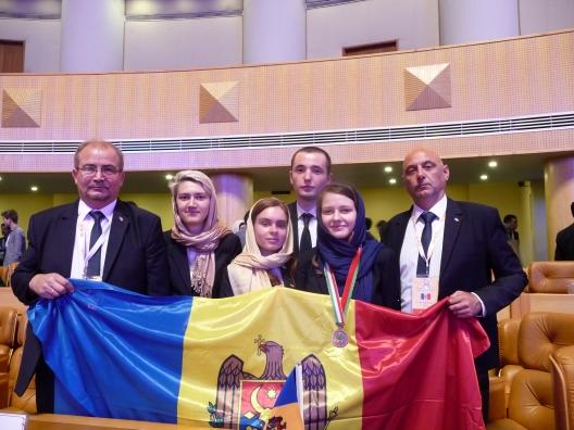 Medalie de bronz și mențiune de onoare pentru Republica Moldova la Olimpiada Internațională de Biologie