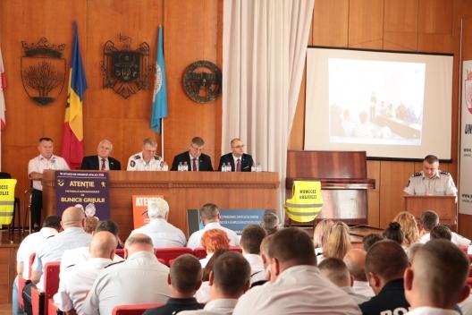 Peste 600 de locuitori din raionului Sîngerei au devenit voluntari ai poliției