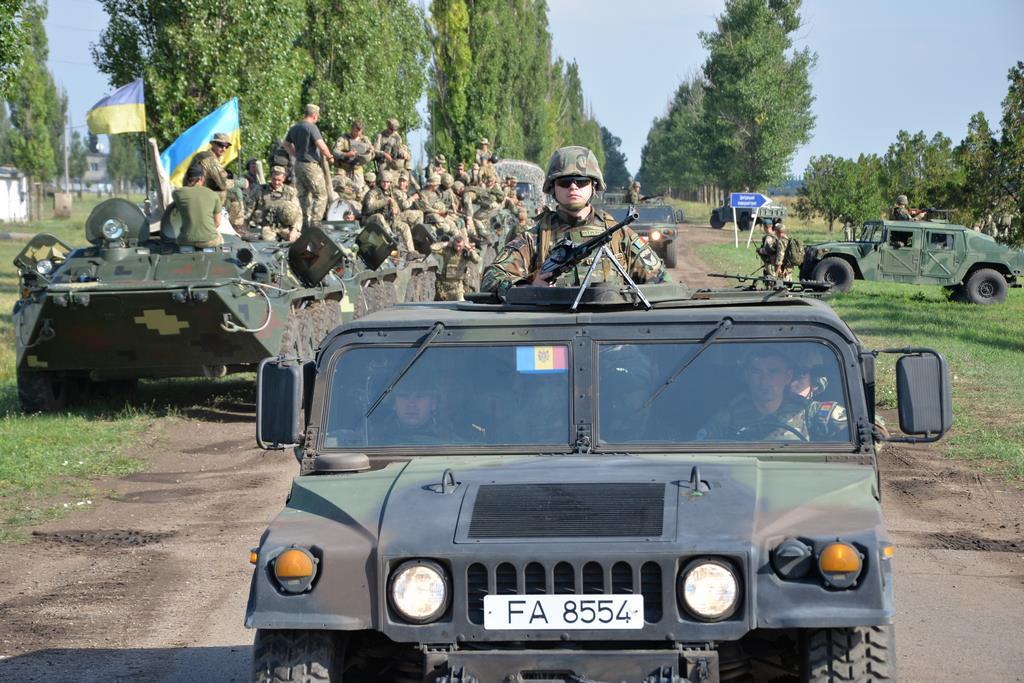 """Militarii Armatei Naţionale desfăşoară antrenamente la """"Sea Breeze 2018"""""""