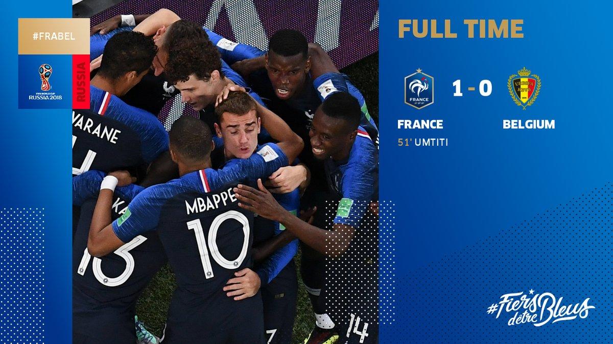 VIDEO | Selecţionata Franţei s-a calificat în finala Cupei Mondiale de fotbal din Rusia