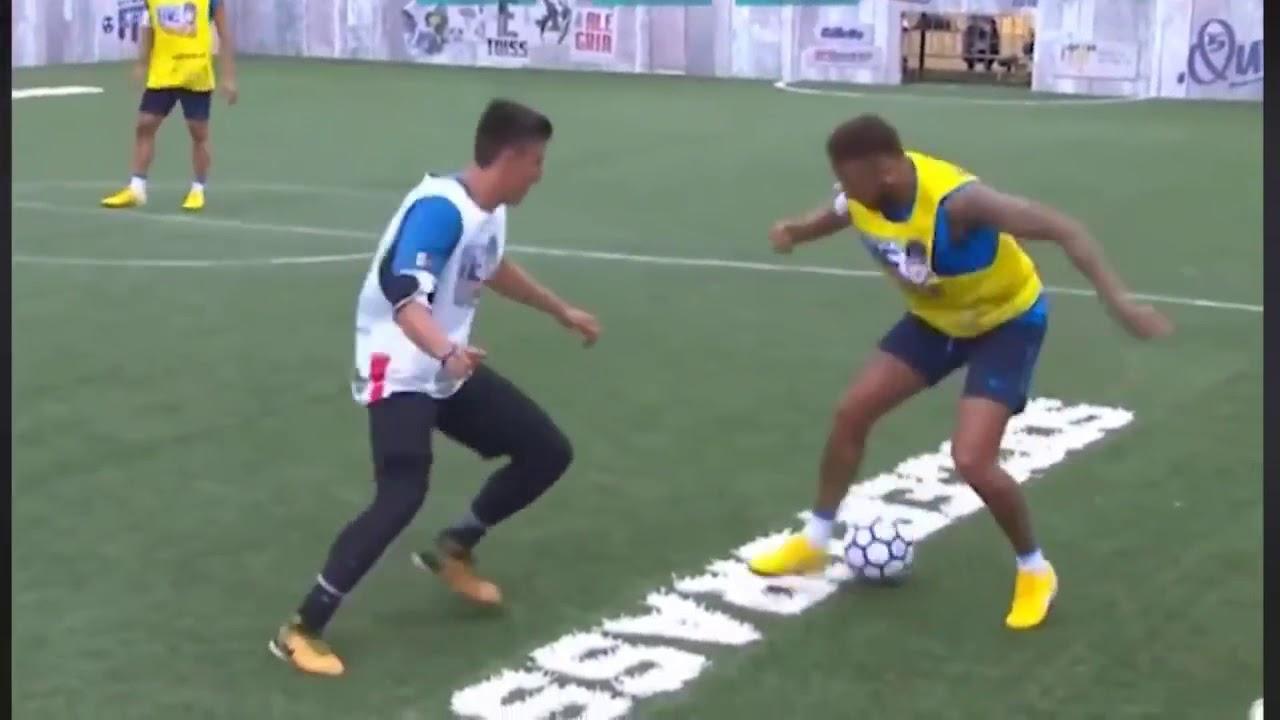 Un amator l-a făcut de râs pe Neymar