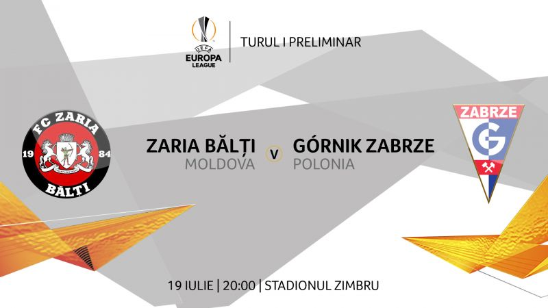 FC Zaria Bălți își pastrează șensele de calificare în Europa League, după un meci pierdut în Polonia
