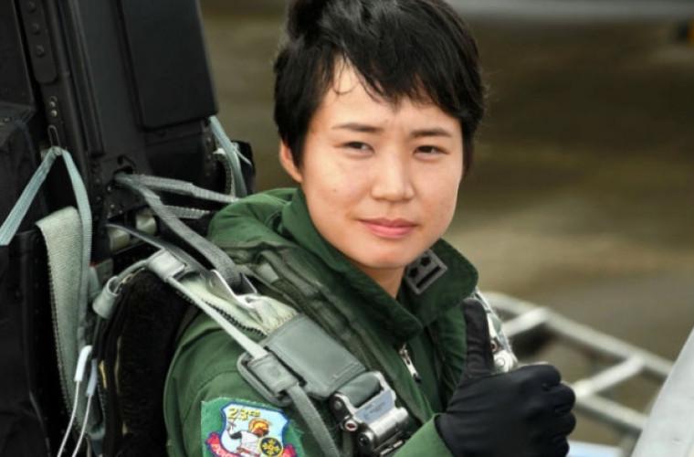 Ea este prima femeie pilot de vînătoare din Japonia