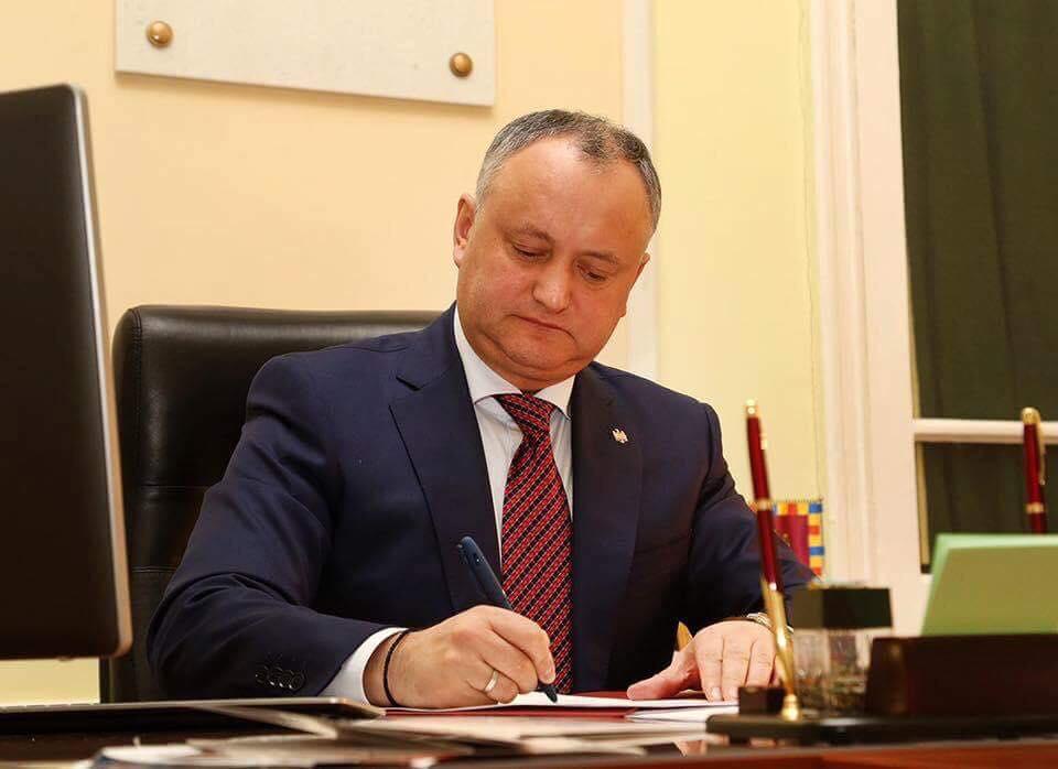 Igor Dodon, suspendat a patra oară