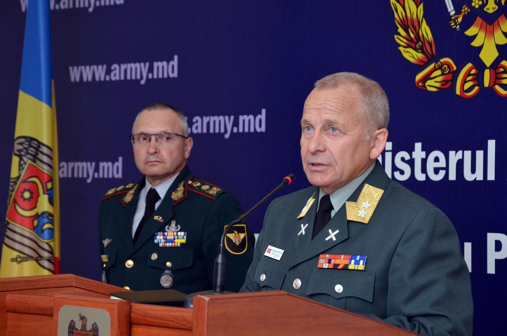 Un Oficial NATO laudă militarii Republicii Moldova