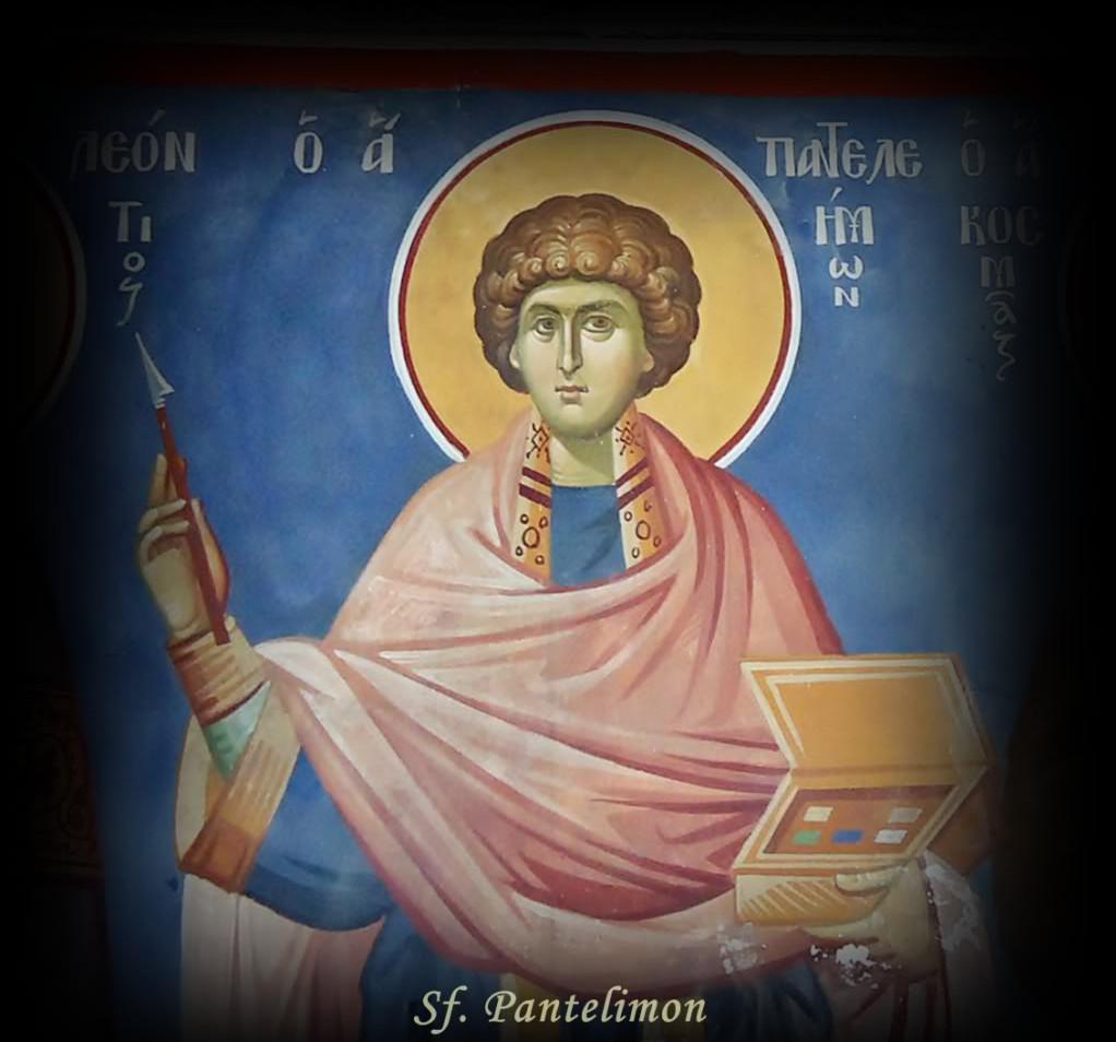 Creștinii îl sărbătoresc azi pe Sfântul mucenic Pantelimon