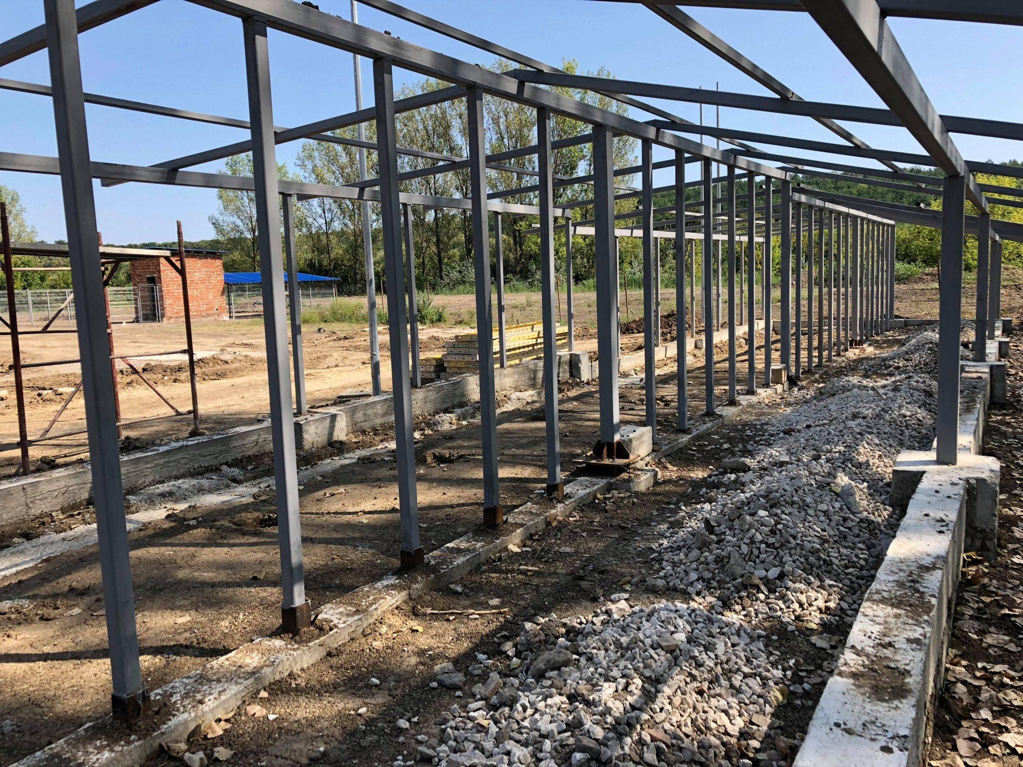 Lucrările de construcție a azilului pentru maidanezi din Bălți sunt în toi