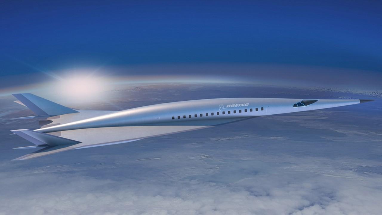 Aeronava care va zbura de la Londra până la New York în doar două ore