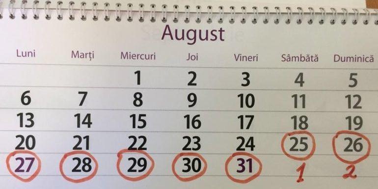 Decis! Bugetarii vor avea o vacanță de 9 zile: Guvernul a aprobat inițiativa