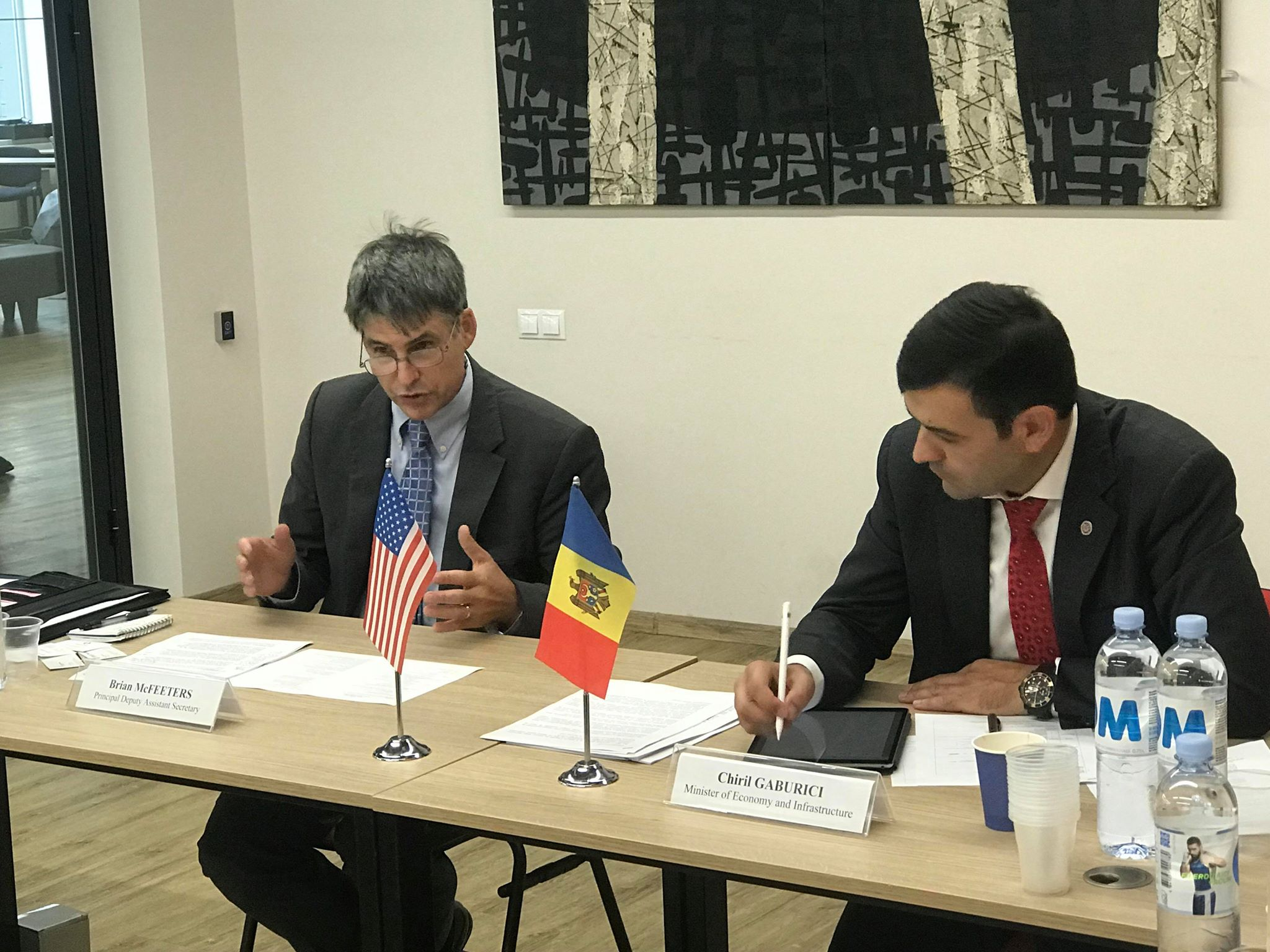 A fost lansat Grupul economic de lucru pe marginea Dialogului Strategic RM-SUA