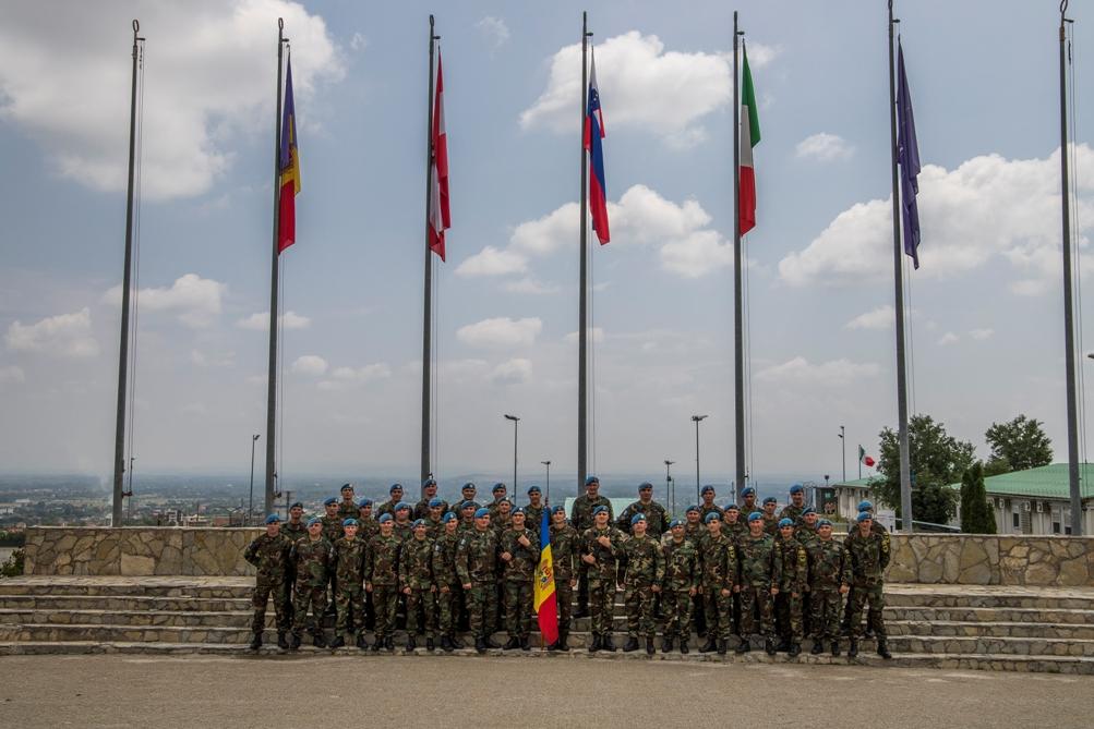 Pacificatorii Armatei Naţionale – la datorie în misiunea KFOR din Kosovo