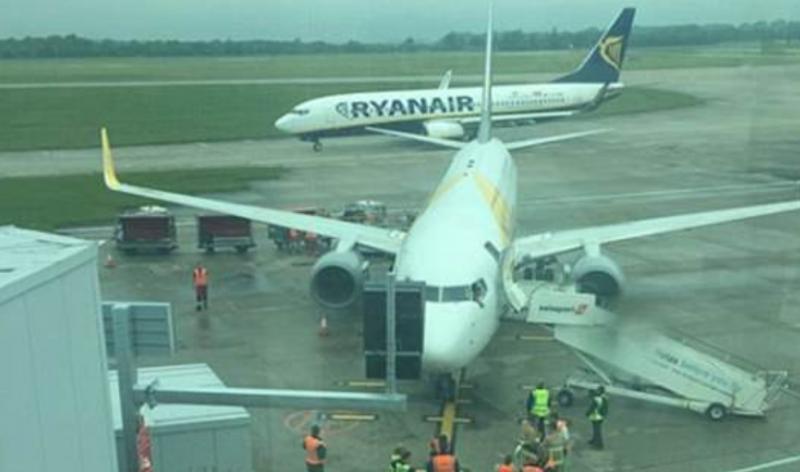 Ryanair anunță că a anulat 150 de zboruri programate pentru mâine