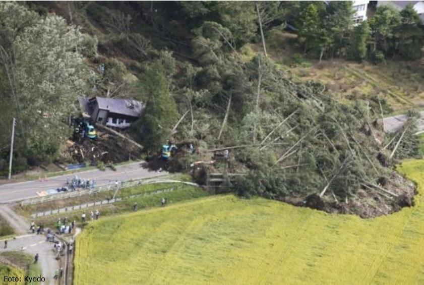 Japonia a fost lovită de un cutremur puternic