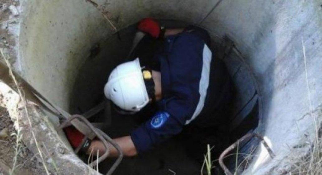 O bătrână din Briceni, scoasă la suprafață de salvatori de la o adâncime de patru metri