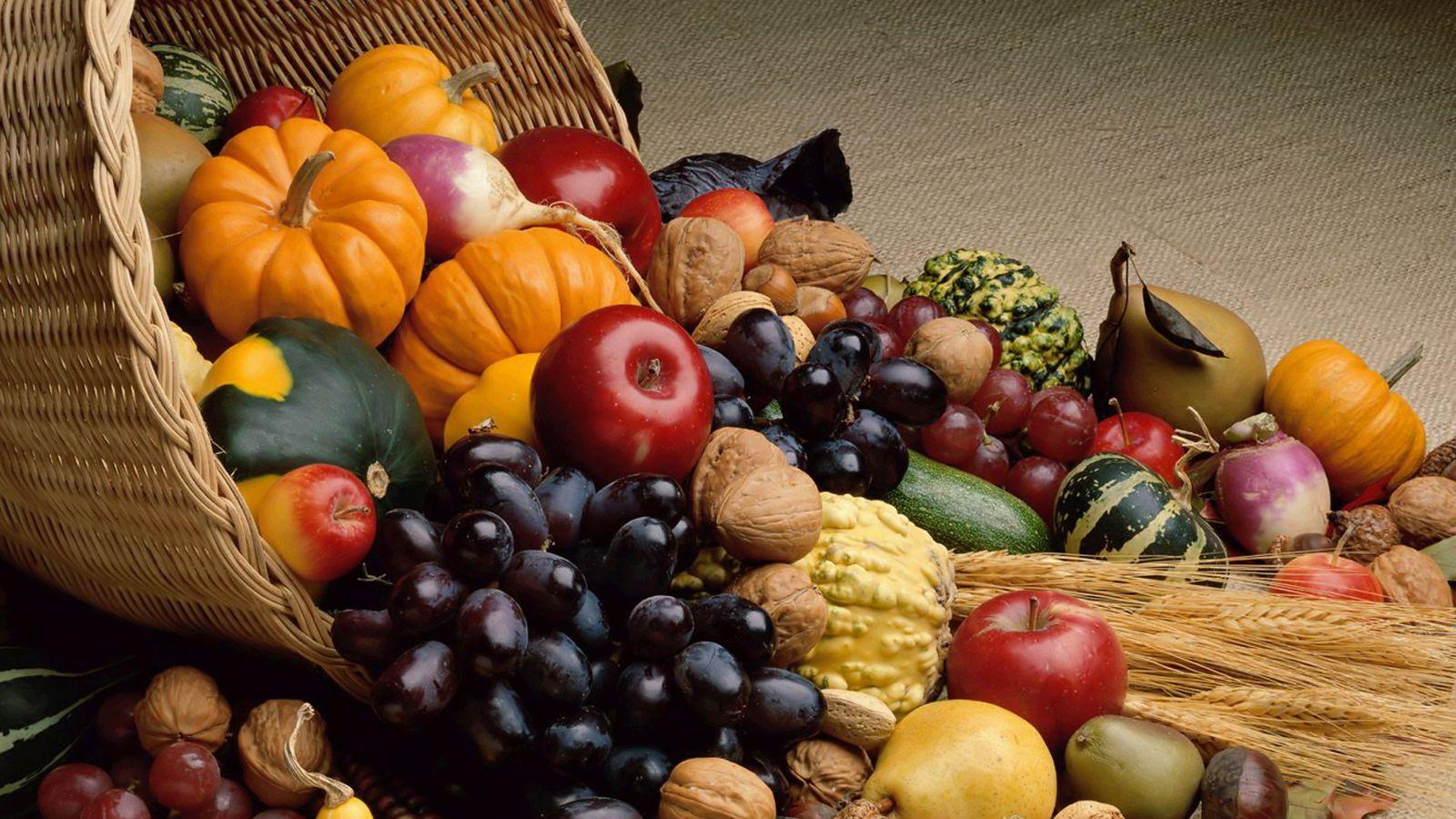 Zece alimente ce trebuie consumate la început de toamnă