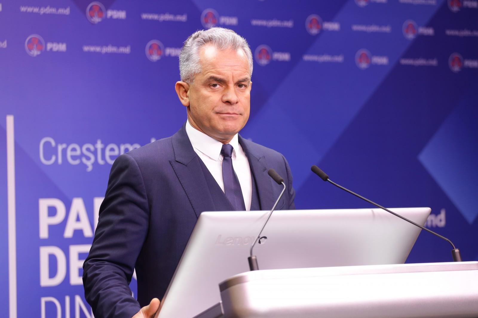 LIVE |Briefingul Partidului Democrat din Moldova