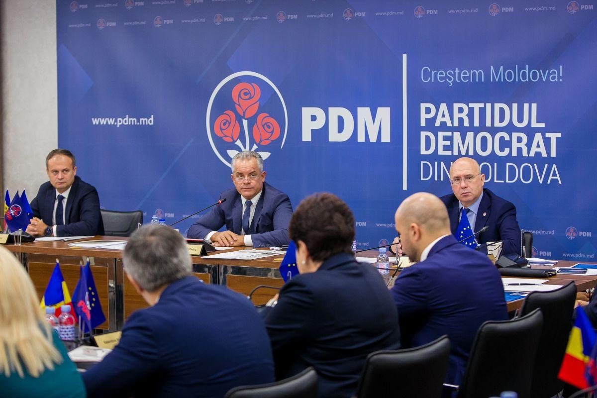 "PDM renunță la retorica de partid ""pro-european"" și devine unul ""pro-Moldova"""