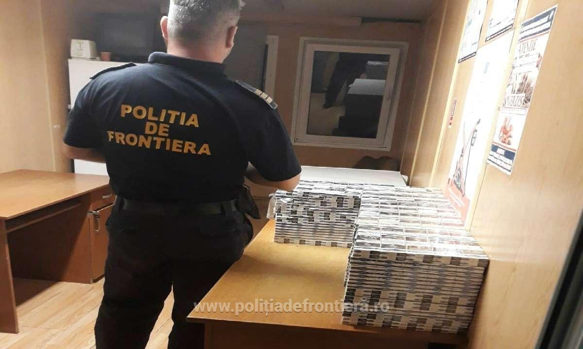 Trenul Chișinău-București continuă să ducă țigări de contrabandă