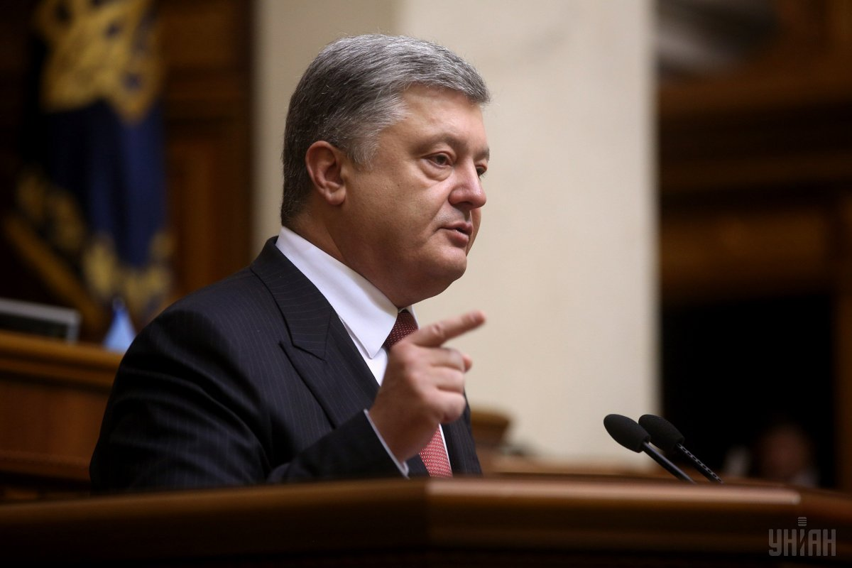 Președintele ucrainean Petro Poroșenko a semnat decretul de instituire a stării de război