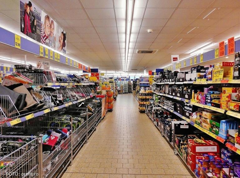 Magazinele din România vor fi obligate să asigure spații distincte de vânzare a produselor alimentare din R.Moldova