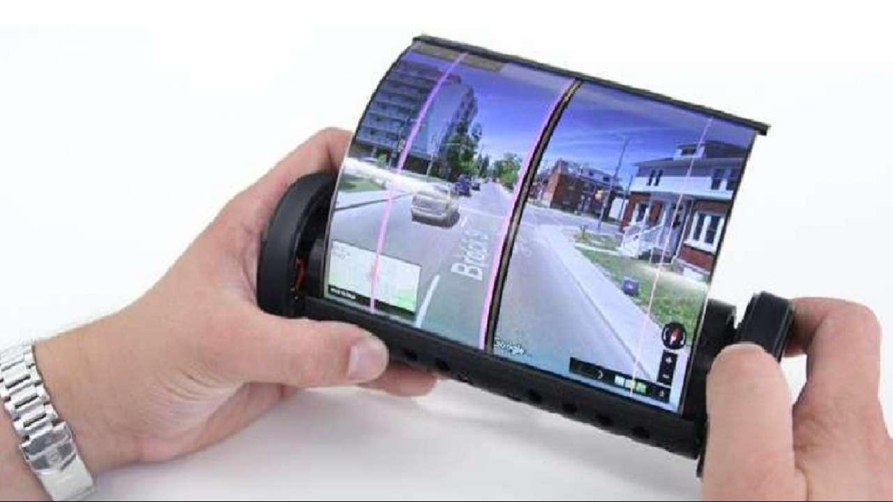 Prima tabletă în care ecranul se poate rula