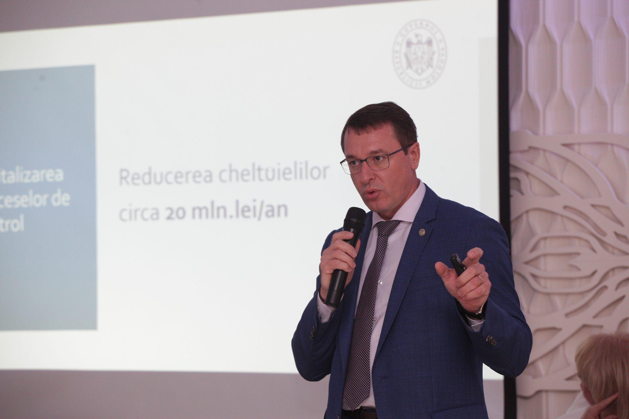 Ghișeul unic electronic a fost prezentat oamenilor de afaceri din regiunea de nord a țării