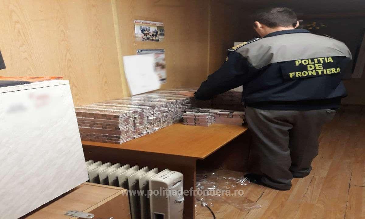 VIDEO | Ţigări de contrabandă ascunse în trenul PRIETENIA
