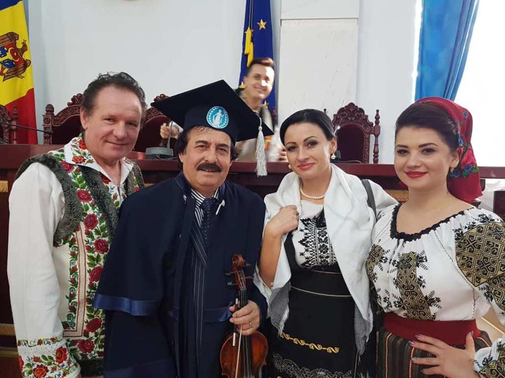 Dirijorul și violonistul Nicolae Botgros a devenit Doctor Honoris Causa al AȘM