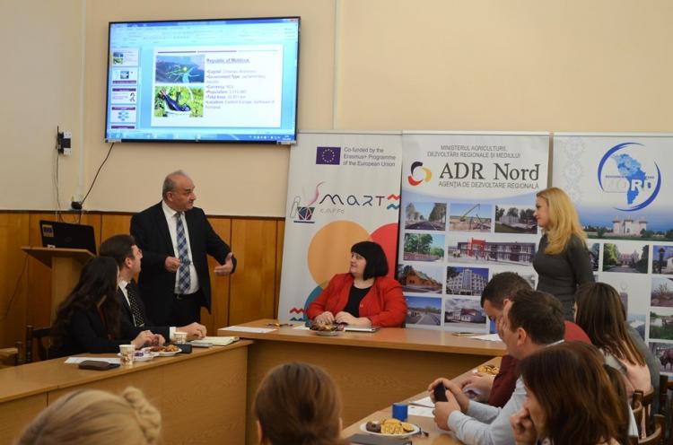 La Universitatea din Bălți a avut loc o sesiune de informare privind specializarea inteligentă