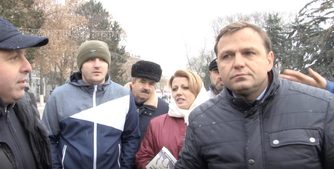 ВИДЕО | Андрей Нэстасе приехал с визитом в Бельцы