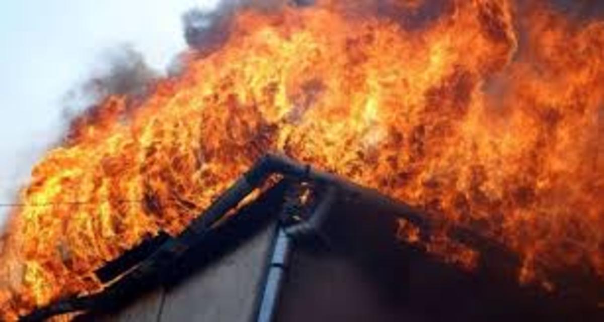 Două persoane au avut de suferit în incendii produse în raionul Briceni