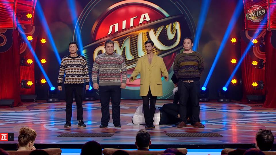 """Trofeul concursului umoristic """"Liga Smeha"""" din Ucraina, câștigat de moldovenii din """"Stoianovca"""""""