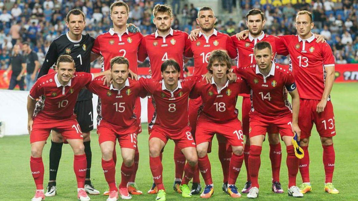 Naționala de fotbal a Moldovei a remizat cu Luxemburg